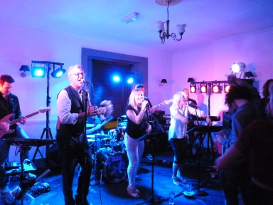 The incredible 'Filthy Gorgeous'. We were so unbelievably lucky to have this band perform a set for us.